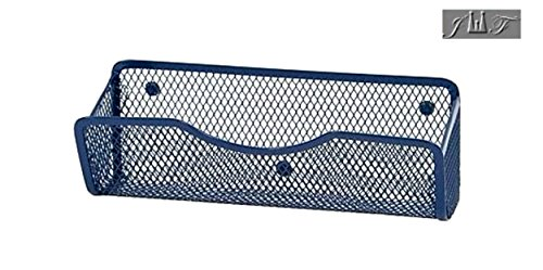 Wire Mesh Magnetic Locker Caddy, School-Office-Home Supply Organizer Desk Tray, Accessory. Keep Your Locker Organized. (Blue) by JEWELS FASHION