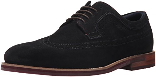Ted Baker Men's Deelani Oxford, Dark Blue (Bordo Sole) Suede, 11.5 D(M) US by Ted Baker