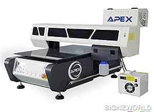 UV Impresora UV6090 Automático Superficie Plana Digital ...