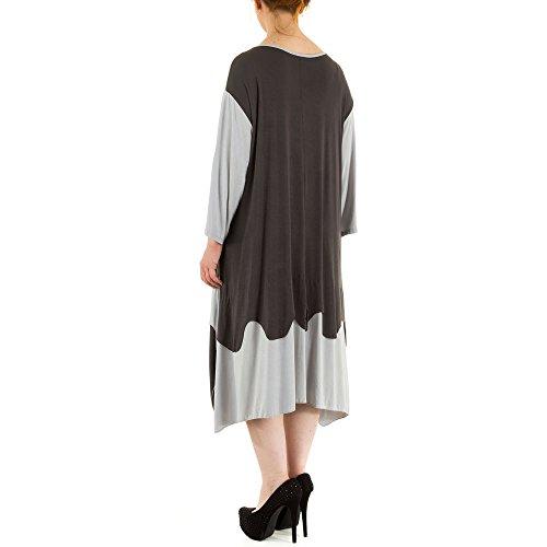 Ital-Design - Vestido - para mujer gris