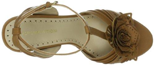 Adrienne Vittadini Calzature Donna Crisalide Con Cinturino A T In Sandalo Di Cuoio