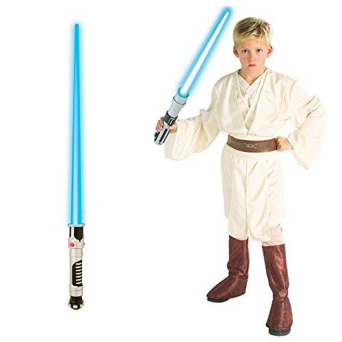 Obi Wan Kenobi Revenge Of The Sith Costume (Obi-Wan Kenobi Child Costume Bundle Set - Medium)