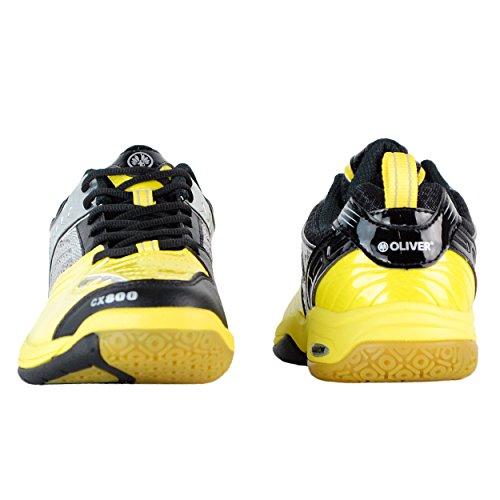 Oliver CX 800 de interior zapatos de bádminton y squash de balonmano Talla:40