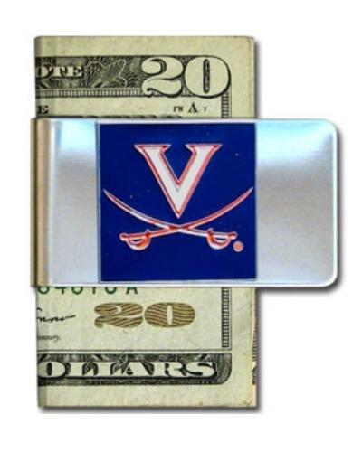 Virginia Cavaliers Money Clip - Virginia Cavaliers Steel Money Clip