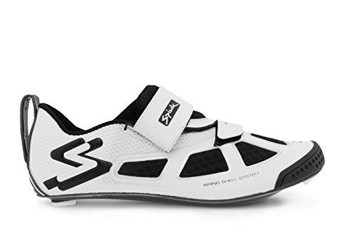 Spiuk Trivio Triathlon C Sneaker Unisex Bianco / Argento / Nero