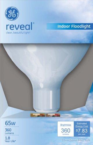 GE Lighting 87904 65-Watt BR40 Reveal Floodlight, 1-Pack by GE Lighting (Image #1)