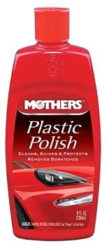 Mothers 06208-6 Plastic Polish - 8 oz, (Pack of 6)