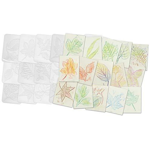 Roylco R-5815 Leaf Rubbing Plates, 1