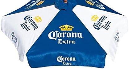 Corona Extra Light Beer Patio Umbrella Market Style New