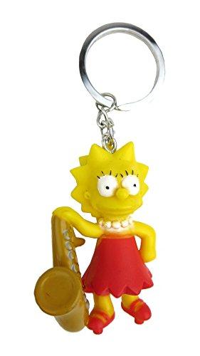 Fox The Simpsons Lisa 3D PVC Key Ring (Simpsons Key Rings)