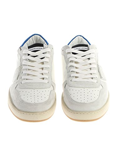 Philippe Model Sneakers Uomo LKLUXS11 Pelle Bianco Tienda De Venta En Línea Barata Y5ObDoV