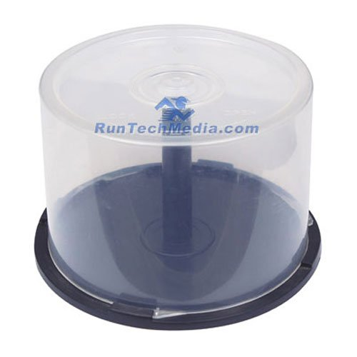 24 PC OF EMPTY CD DVD Blu-ray Disc CAKE BOX Spindle -50 Disc - 50 Box Cake Disc
