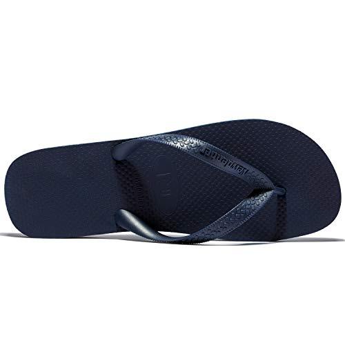 Classical Comfortable NDB Men's EVA Rubber Flip Blue Sandal NewDenBer Navy Flop wqEgBw