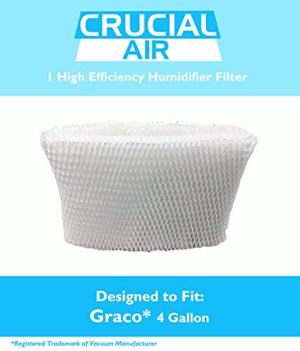 Crucial Air Graco Humidifier Filter, 4-Gallon, Fits Model 2H02 and TrueAir 05521