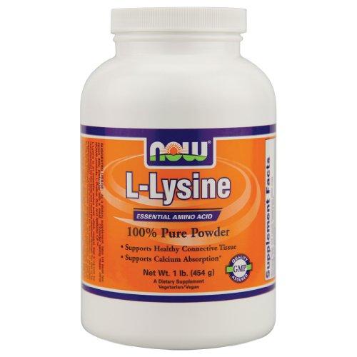 Poudre de L-Lysine - 1 lb.