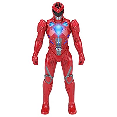 Power Rangers Mighty Morphin Movie - Morphin FX Red Ranger Figure: Toys & Games