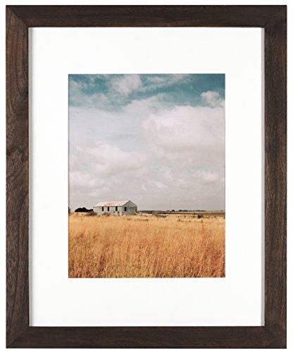 Artcare By Nielsen Bainbridge 16x20 Archival Hazelnut Arcadia Frame With White Mat For 11x14 Image #RW19ARHN. Includes: UV Glazed Glass and Anti Aging - Glass Uv Frame