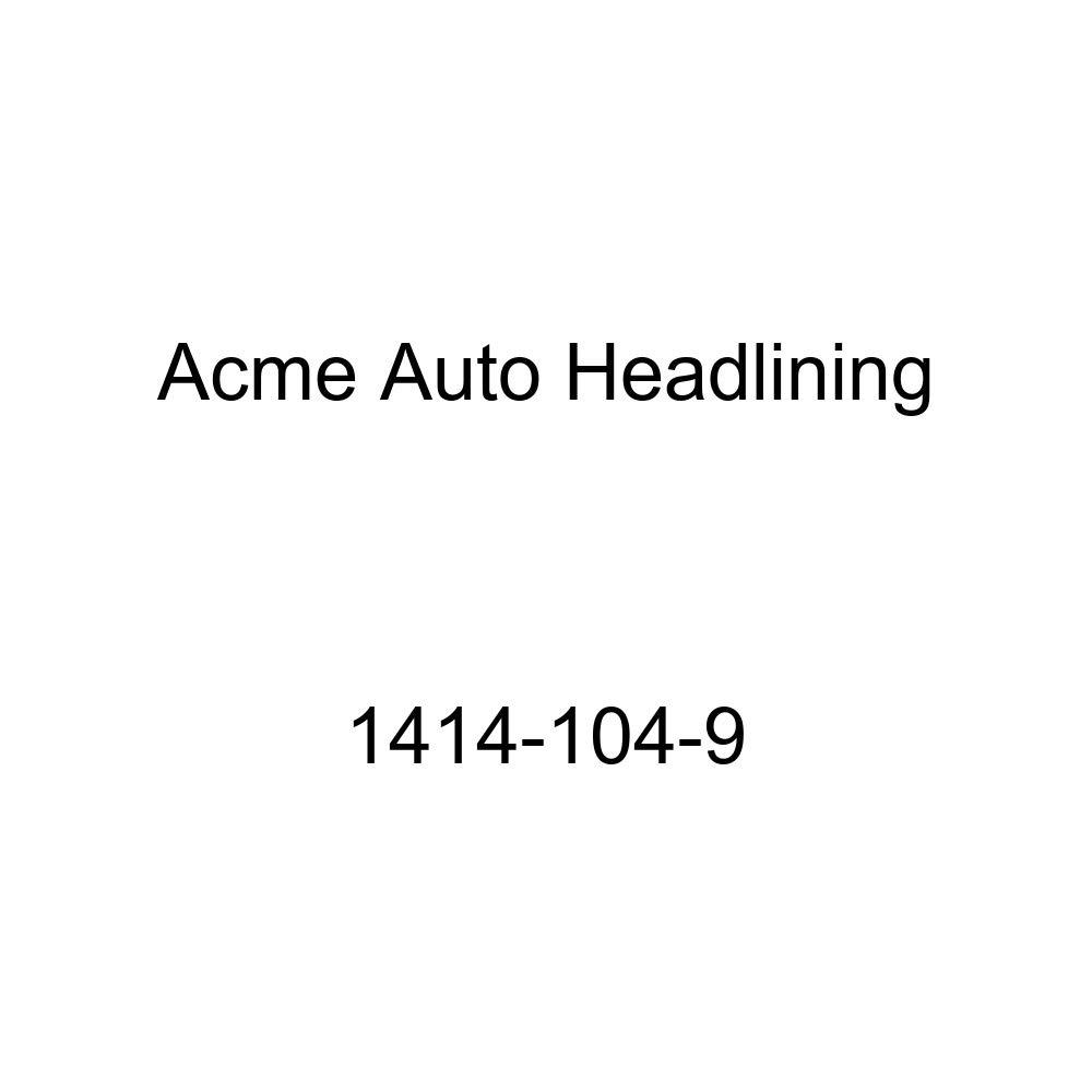 Acme Auto Headlining 1414-104-9 Dark Green Replacement Headliner 1941-48 Buick, Chevrolet, Oldsmobile /& Pontiac 2 Door Coupe 7 Bows