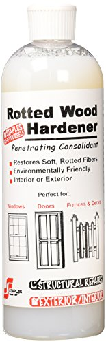 Staples 413 Rotted Wood Hardener, 16-Ounce