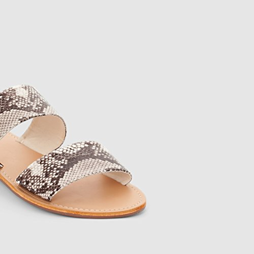7574179c71f0 outlet R Edition Womens Mule Sandals Beige Size 40 - promotion-maroc.com