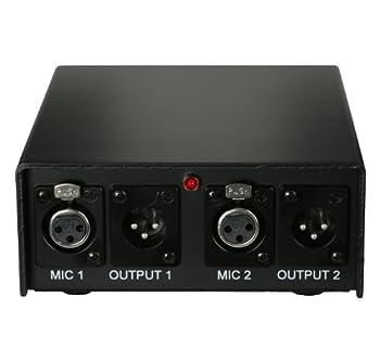 Audix Aps2 2-channel 48v Phantom Power Supply 0