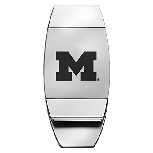 LXG, Inc. University of Michigan - Two-Toned Money Clip - Silver -