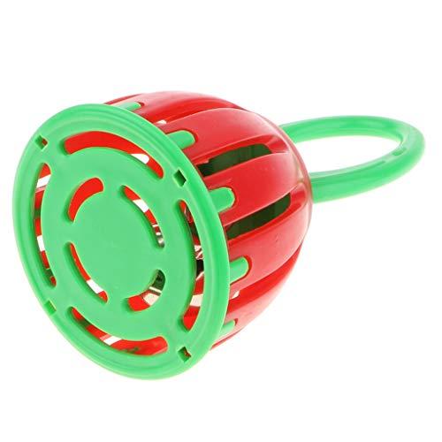 Fenteer Handbell Musical Rattle Educación Montessori Development Musical Shaker Toy