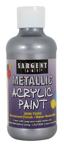 Sargent Art 25 2382 8 Ounce Metallic
