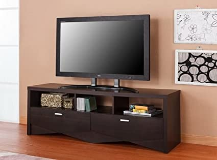 Amazoncom Furniture Of America Espresso Media Center Storage
