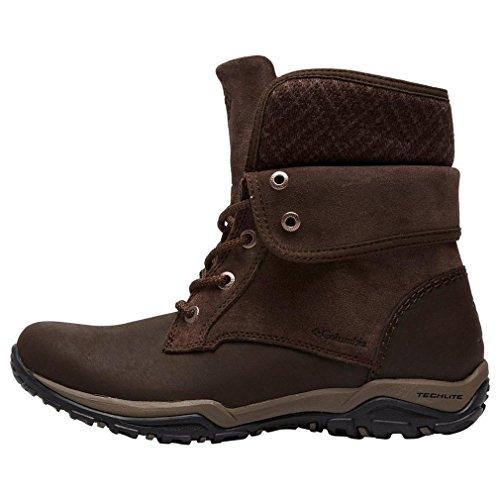 Fold Brown Shoes Columbia Waterproof Dark Women's Outdoor Cityside fqOOHwB1