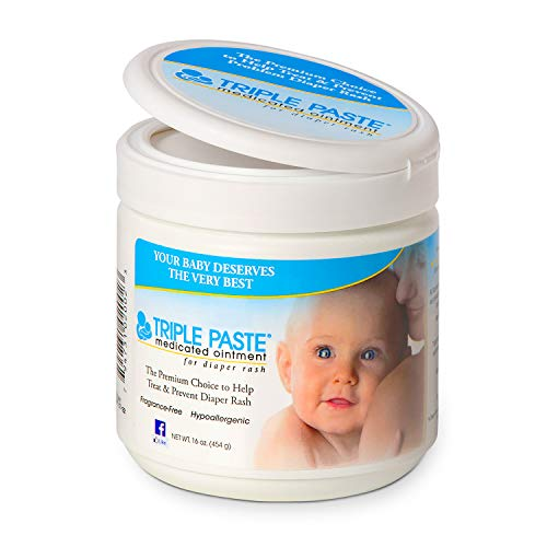 Triple Paste Medicated Ointment for Diaper Rash, 16-Ounce (The Best Way To Get Rid Of Eczema)