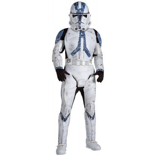Star Wars Child's Deluxe Clone Trooper Costume, Medium