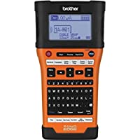 Brother Mobile PTE500 Handheld Labeling Tool, USB Interface, Li-ion, Auto Cut, Carrycase