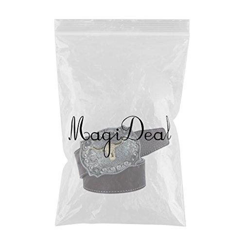 MagiDeal Ceinture en Cuir Unisexe avec Boucle Arabesque Tête de Vache - Café,  120cm  Amazon.fr  Vêtements et accessoires dec64c108e4