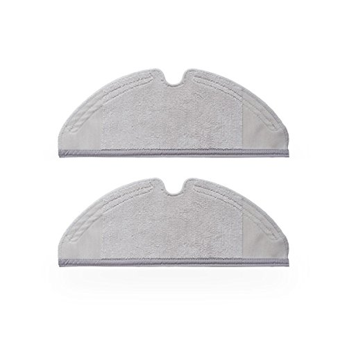 Generic 2pcs Mop Cloths for Xiaomi and Roborock Robot Vacuum ...