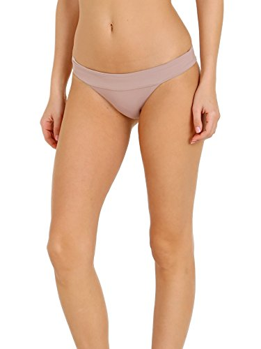 - LSpace Women's LSolids Banded Hipster Bikini Bottom Dusty Pearl M