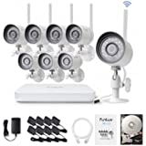 Funlux 8 Wireless Security Camera System with 1 TB Hard Drive