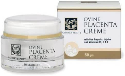 Nature's Beauty Premium Ovine Placenta Creme, 50 Grams