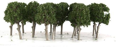 Hellery 樹木 桑の木 モデルツリー 1/150 鉄道模型 ジオラマ 箱庭 鉄道 風景 装飾 30個入り