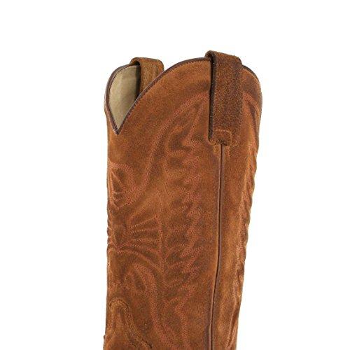 Sendra Boots 2073 Bronson Gris / Heren Cowboylaarzen Grijs / Westerse Laarzen / Cowboy Laarzen / Grijs Heren Laarzen Camello