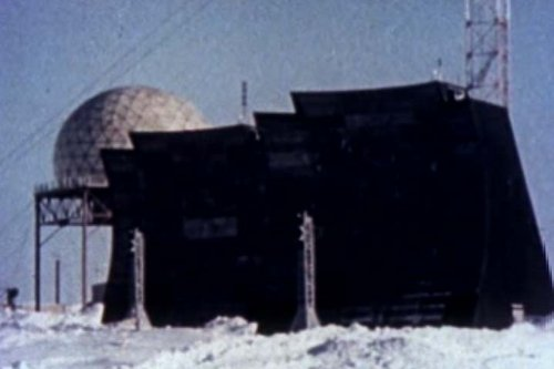 Classic Distant Early Warning (DEW Line) Film DVD: 1960s Cold War Nuclear Attack Defense DEW Line Radar & Antenna Security System Construction Film (Antenna Systems)