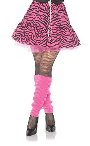 80s Zebra Skirt Costume - Medium - Dress Size 8-10