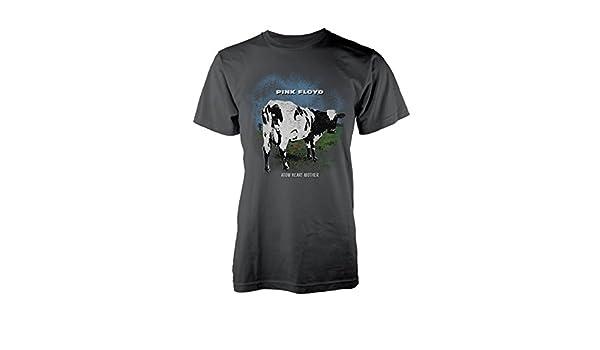 5d98993e Pink Floyd Atom Heart Mother Roger Waters Rock Official Tee T-Shirt Mens  Unisex   Amazon.com