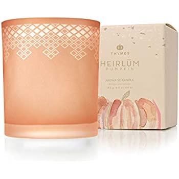 Thymes - Heirlūm Pumpkin Poured Candle with 65-Hour Burn Time - 6.5 Oz