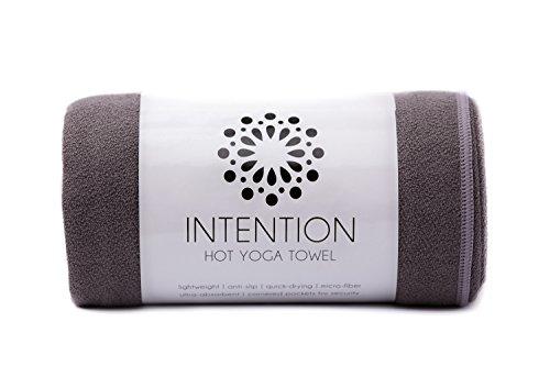 Intention Yoga Towel Microfiber Corners