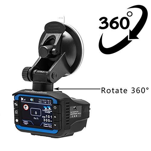 Meoscun 2 in 1 Anti Laser Car Radar Detector Dash Cam Car DVR Camera Recorder 140 Degree Dashcam HD 720P
