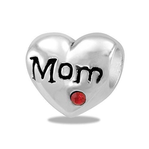 - DaVinci Bead Heart Mom - Jewelry Bracelet Memories Beads Mother's Day DB15-4-DAV by Center Court