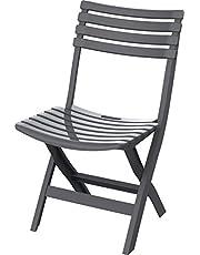 كرسي بلاستيك كوزموبلاست قابل للطي للداخل والخارج