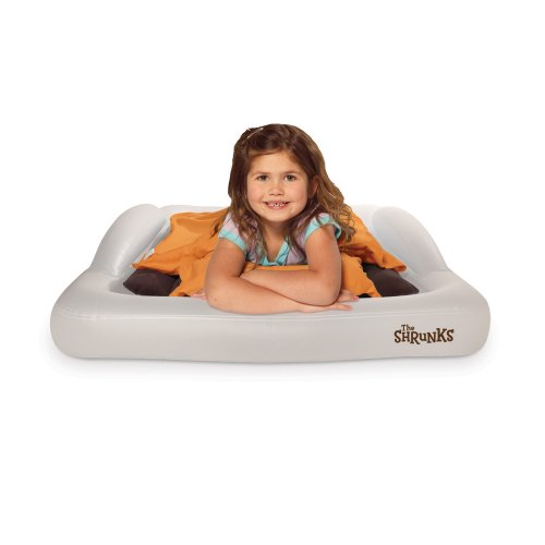 The Shrunks Toddler Travel Bed Portable Inflatable Air Mattress Bed for Toddlers...