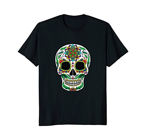 Sugar Skull T Shirts For Women & Kids (Boys Sugar T-shirt)